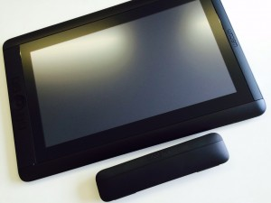 Cintiq 13HD touch開封後