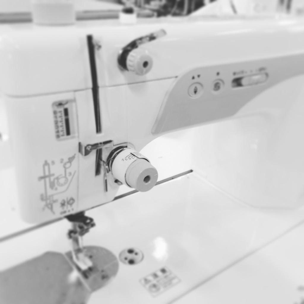 ブラザーの直線縫いミシン